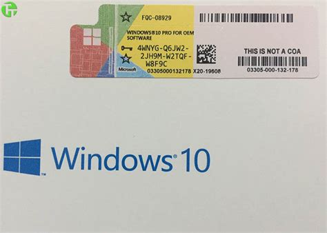 Windows 8 Pro Original Licence Key Serial Number 1 upgrade microsoft windows 10 key code coa license sticker