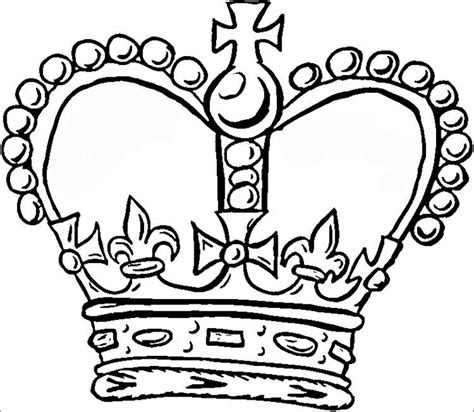 printable crown to color crown template free templates free premium templates