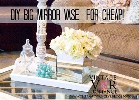 diy home decor blogadda collectives diy big mirror vase for cheap glam beach glam home decor