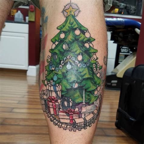 christmas tree tattoo tree tattoos designs and meanings flowertattooideas