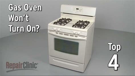gas oven pilot top 4 reasons oven won t turn on gas range