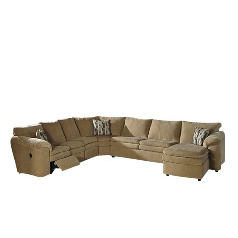 dune sectional ashley coats 5 piece right chaise fabric sectional in dune