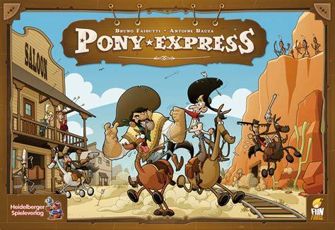 Pony Express pony express spiel anleitung und bewertung auf herbst