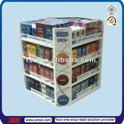 Average Shelf Of Condoms by Tsd C247 Retail Store Sale Counter Top Display