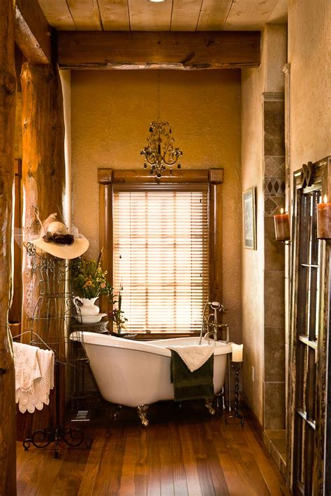 Western Bathroom Designs | vintage charm bathroom decorating ideas long hairstyles