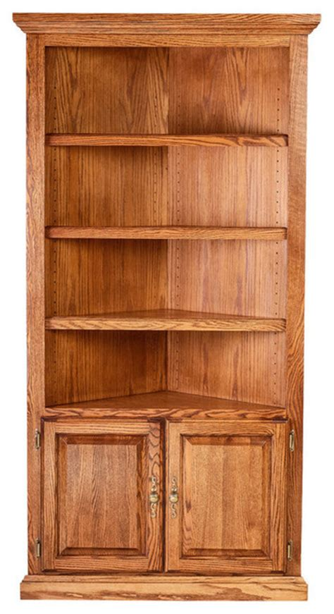 corner bookcase black traditional oak corner bookcase from corner 72h traditional bookcases by oak arizona