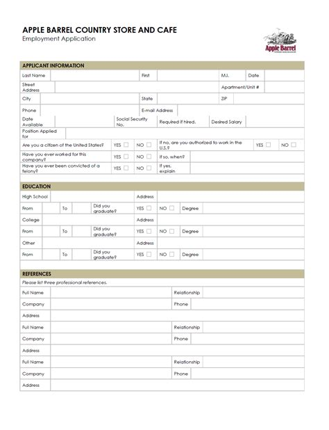 printable job application for rainbow clothing store rainbow clothing store printable appl movie search