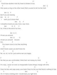 With You Chris Brown Guitar Chords Images - guitar chords finger ...