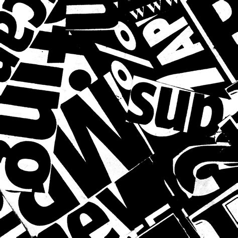 typography collage typography collage