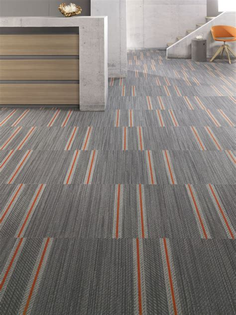 Carpet Tile Installation Mohawk Carpet Tile Denim S Pattern Selvedge Installed In Ashlar Flooring Carpet