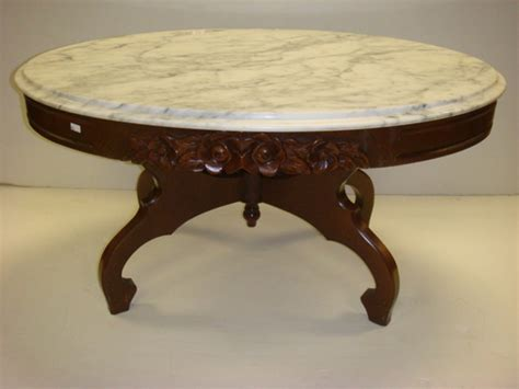 Antique Marble Top Coffee Table Marble Top Coffee Table