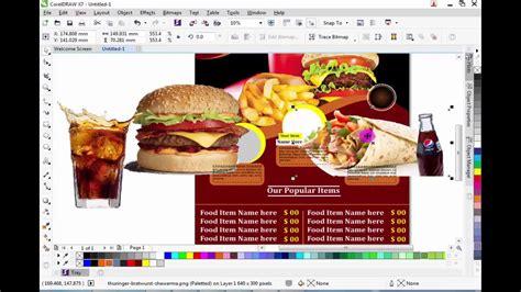 design grafis corel draw x7 how to create a beautiful brouchure design in corel draw