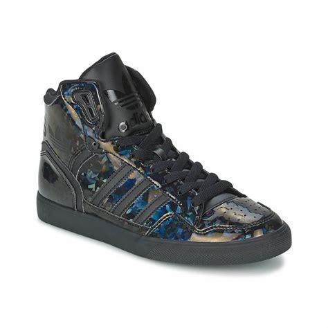 baskets montantes adidas originals extaball w noir baskets femme spartoo tendance mode femme
