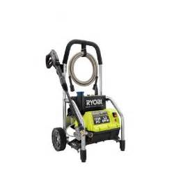 home depot pressure washer ryobi 1700 psi 1 2 gpm electric pressure washer ry14122