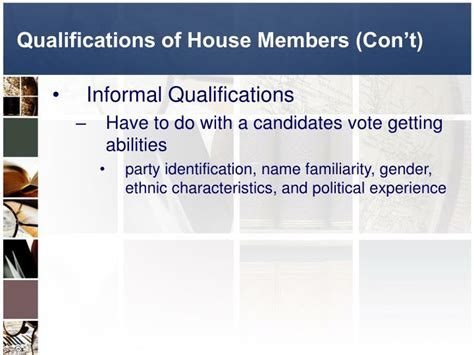 Qualifications For House by Ppt American Citizenship Powerpoint Presentation Id