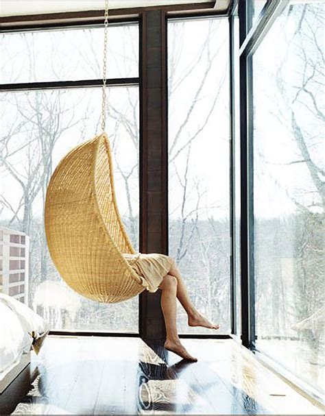 bedroom swings design crush the rattan hanging chair house of hipsters