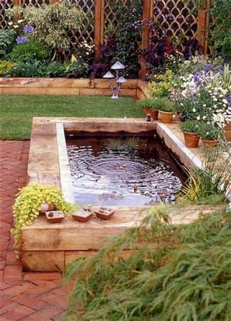 backyard koi pond ideas best 20 raised pond ideas on pinterest pond design above ground pond and garden ponds