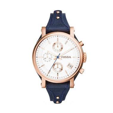 Jam Tangan Fossil Es 3838 jual jam tangan fossil wanita gold terbaru harga