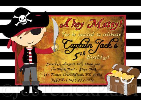 ahoy matey pirate printable iron on label by hamandpea on etsy ahoy matey pirate birthday party photo invitation