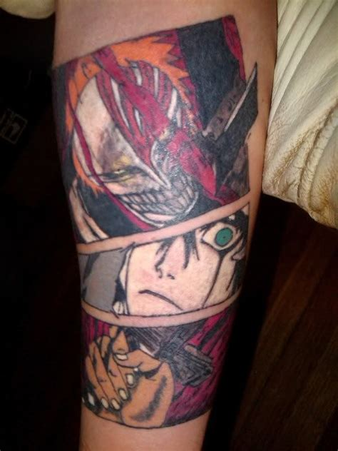 cool anime tattoos anime cool tattoos