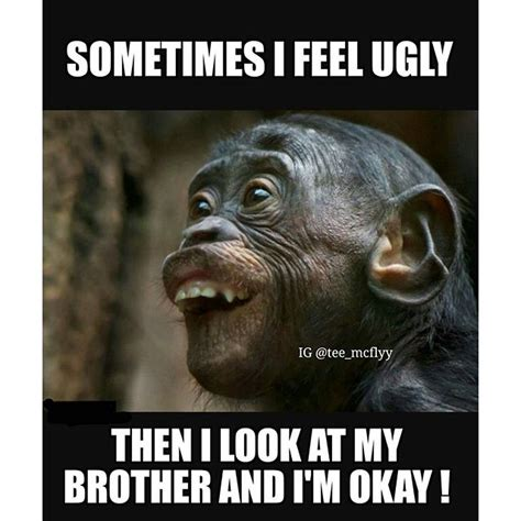 I Love My Brother Meme - monkey funny lol jamaica on instagram