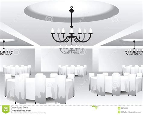 interior template for event design royalty free stock