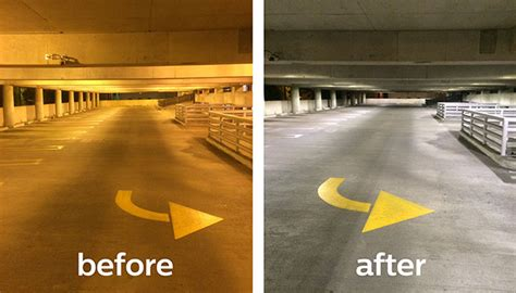 Led Parking Garage Light by Philips Lighting And City Of Birmingham Revitalize