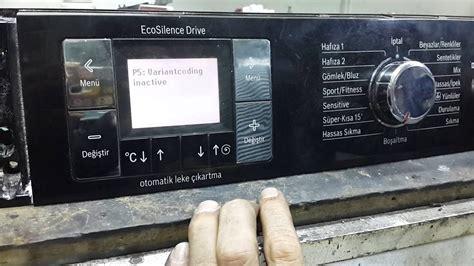Waschmaschine Bosch Logixx 8 2182 by Bosch Logixx F 67 Hata Silme