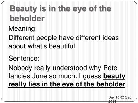 Is In The Eye Of The Beholder Essay by Is In The Eye Of The Beholder Essay