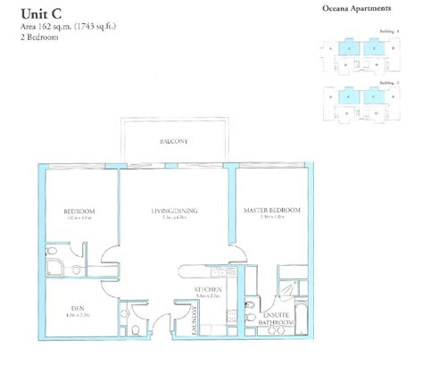 Bedroom Floor Plan Oceana Floor Plans Palm Jumeirah Dubai Uae