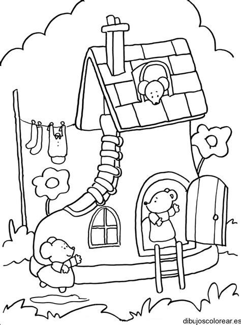 dibujos infantiles para colorear de ratones ratones dibujos para colorear
