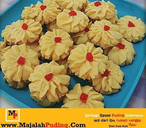 cara membuat kue kering emping jagung resep kue kering semprit gurih enak resep puding