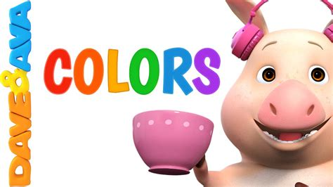 color song colors song nursery rhymes and baby songs from dave and
