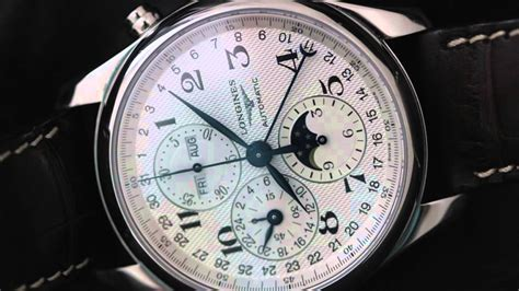Longines Master Moonphase Chronograph a review of the longines master collection calendar chronograph moonphase