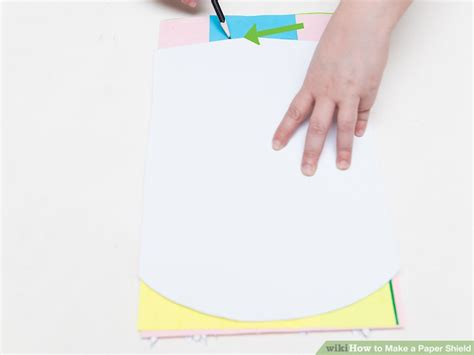 How To Make A Paper Shield Easy - how to make a paper shield 14 steps with pictures wikihow