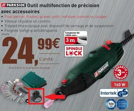 Outil Multifonction Parkside Mini Outil Parkside L Artisanat Et L Industrie