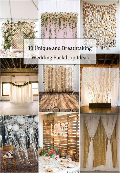 Wedding Backdrop Alternatives by Best 25 Rustic Wedding Backdrops Ideas On