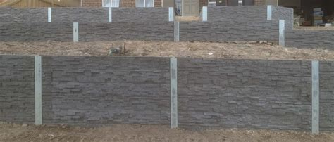Stacked Concrete Sleepers by The Grange Stack Concrete Sleepers Melbourne