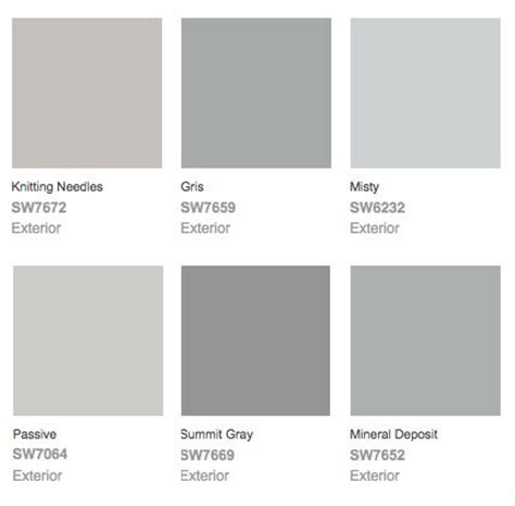 grey colors sherwin williams colors
