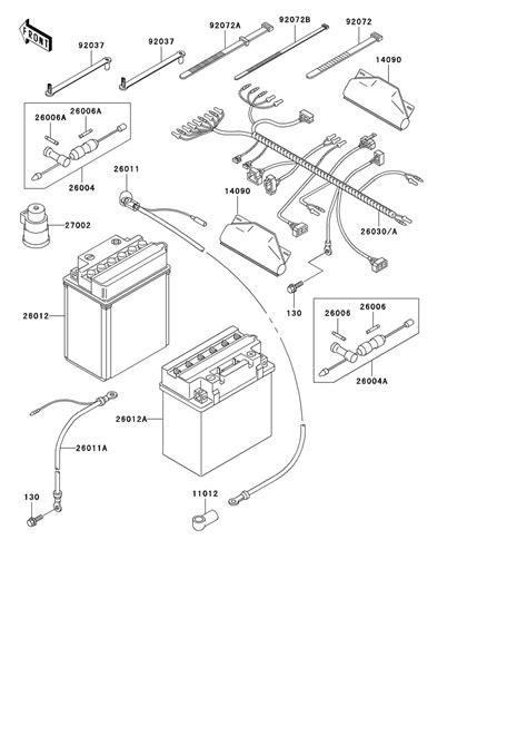 Kawasaki Prairie 360 Wiring Diagram - Wiring Diagram Schemas