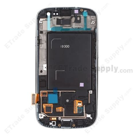 Kaca Lcd Samsung S3 Gt I9300 samsung i9300 lcd screen and digitizer assembly with front housing etrade supply