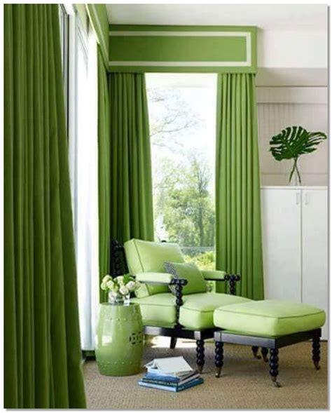 Sofa Warna Coklat desain gorden warna hijau yang mengagumkan desain rumah unik