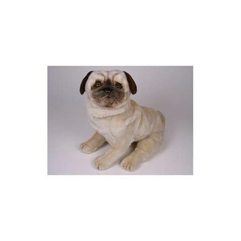 otis pug otis pug stuffed plush realistic lifelike lifesize animal display prop