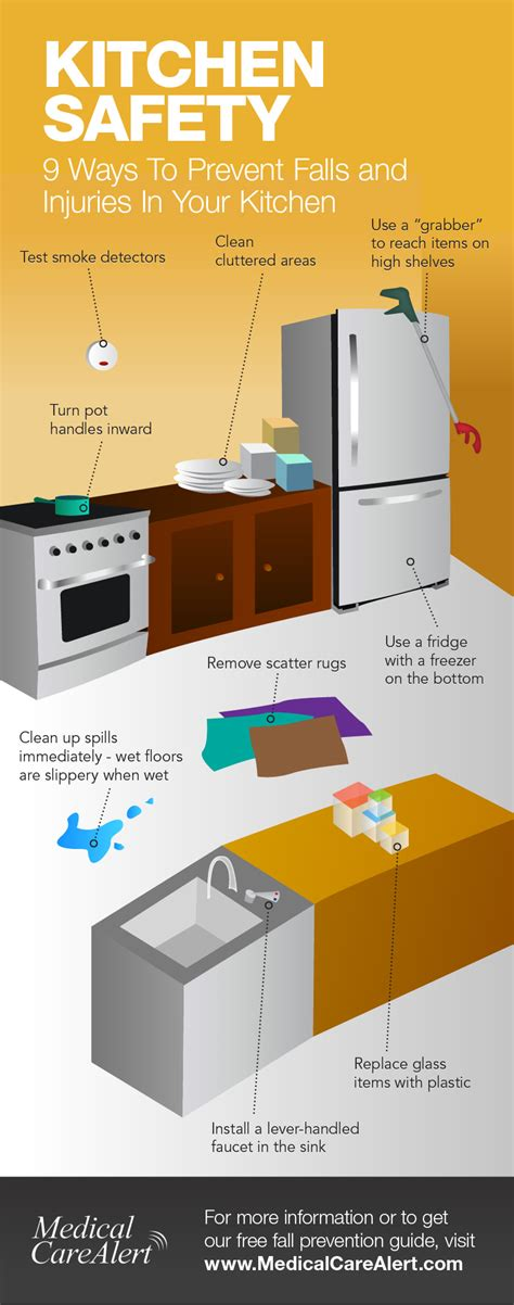 Kitchen Safety by Kitchen Safety For Seniors Nine Ways To Prevent Kitchen