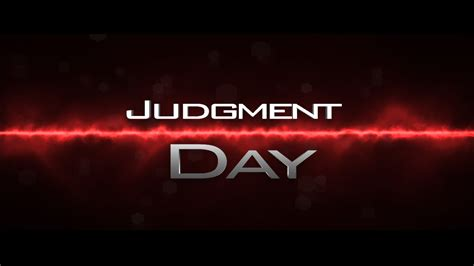 Judgment Day judgment day armageddon news