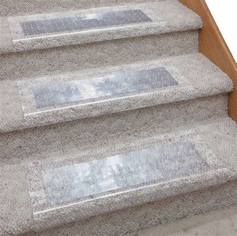 clear rug protector clear stair carpet protector by easycomforts ebay
