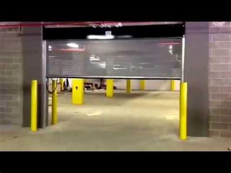 See Through Garage Doors Perforated See Through Parking Lot Garage Door