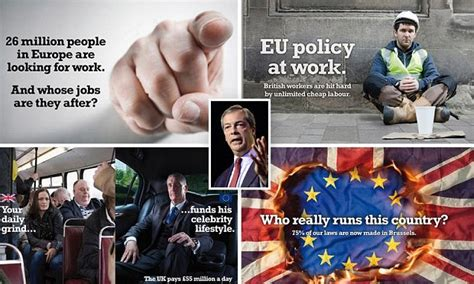 1d Poster 6 new ukip posters on immigration branded by