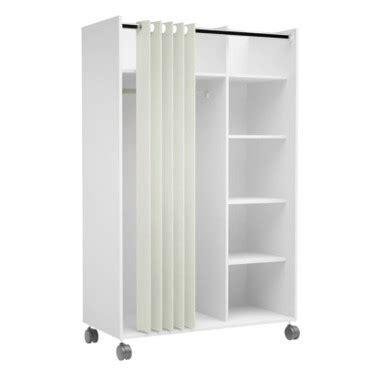 Placard Ikea 816 by Kit Dressing Avec Rideau Move Blanc Pas Cher Armoire But