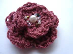 Free Easy Flower Crochet Patterns - free easy crochet flower patterns crochet tutorials